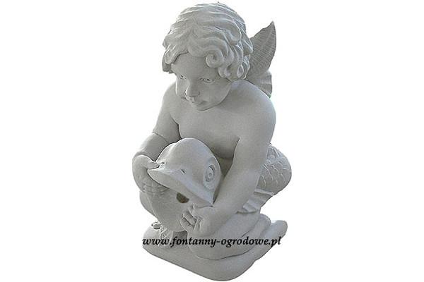 Rzeźba fontannowa - Chłopiec z rybą