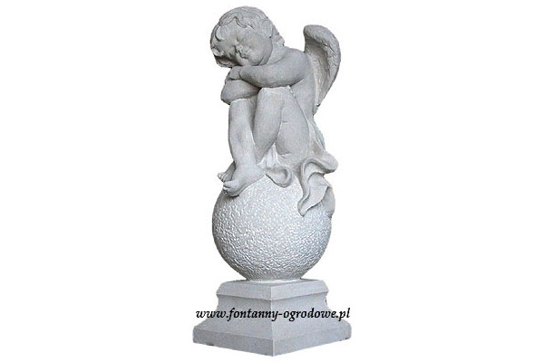 Rzeźba Aniołek. Kamień naturalny