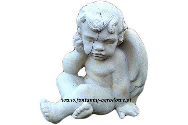 Aniołek - rzeźba z kamienia
