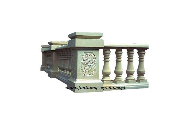 Kamienne balustrady z piaskowca - usługi