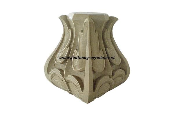 Element dekoracyjny z piaskowca. kamieniarstwo artystyczne