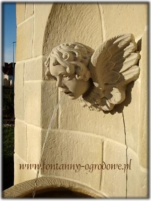 Głowa aniołka - rzygacz
