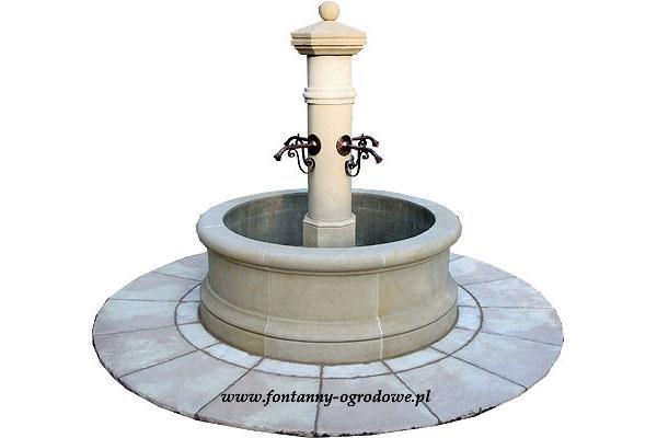 Fontanna klasyczna okrągła