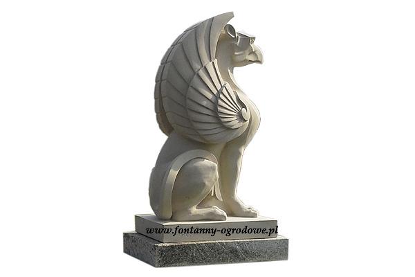 Gryf - rzeźba z piaskowca