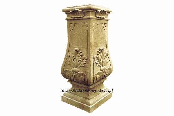 Cokół- kamienna dekoracja