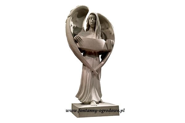 Rzeźba nagrobna anioł