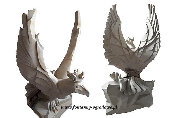 Rzeźba z kamienia Orzeł