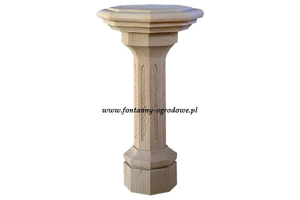 Kamienny filar, stolik
